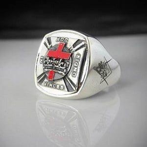 Knights Templar Masonic Ring