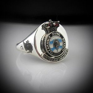 Clearance Diver Branch Crest Ring