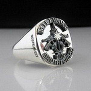 Military Brotherhood MC Club Ring