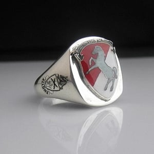 11th Armored Cavalry Regiment ACR Bespoke Sterling Silver Ring