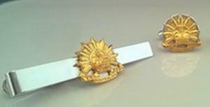 Aust/Army Cuff Link Tie Pin G/P