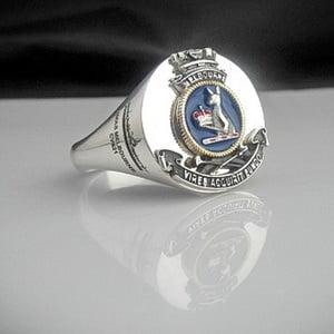 HMAS Melbourne CVS21 Bespoke Crest Ring