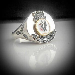 HMAS Perth Bespoke Crest Ring