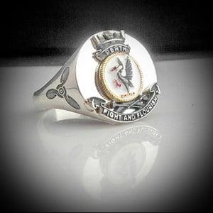 HMAS Perth Bespoke Crest Ring