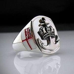Royal Navy Bespoke Sterling Silver Ring