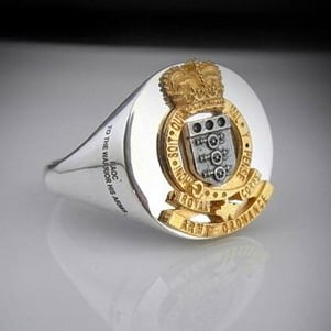 Royal Army Ordnance Corp Ring