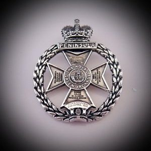 Royal Green Jackets Pendant