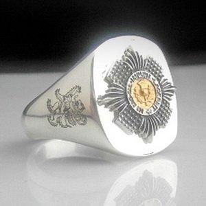 Scots Guard Bespoke Ring